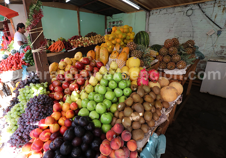 Les fruits du marché Abasto, Ciudad del Este