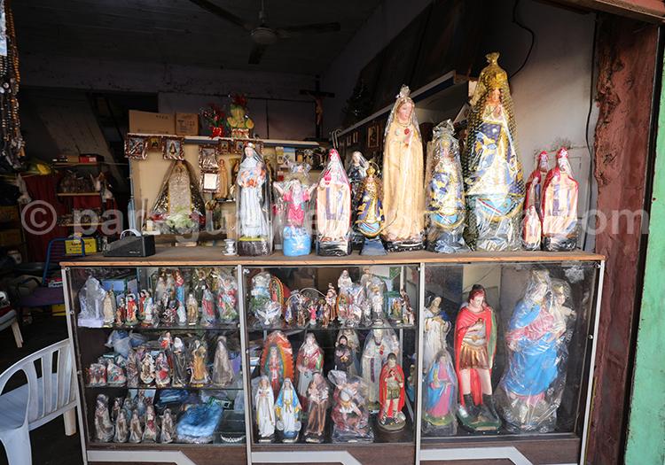 Figures religieuses, Marché Abasto, Paraguay