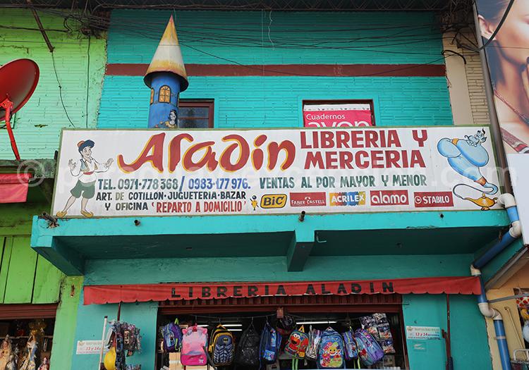 Librairie et mercerie du marché Abasto, Ciudad del Este