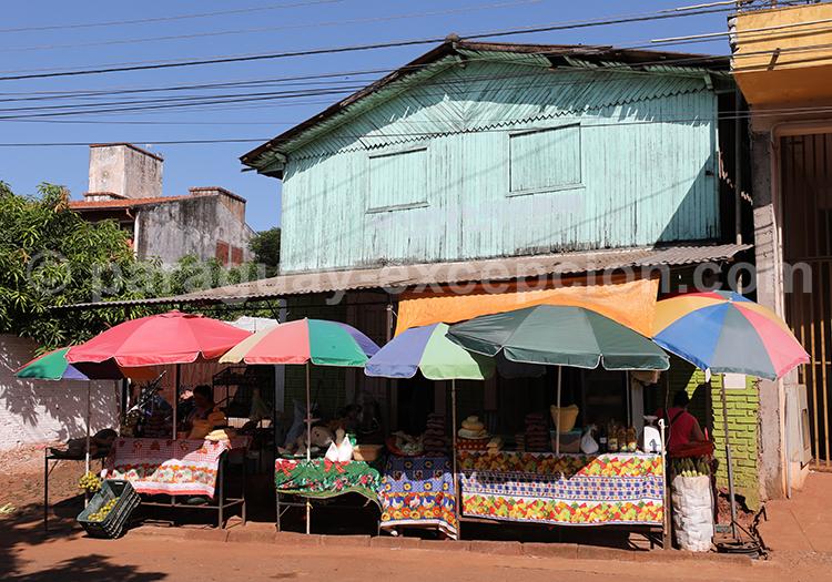 Visiter la ville de Ciudad del Este, aller au marché Abasto