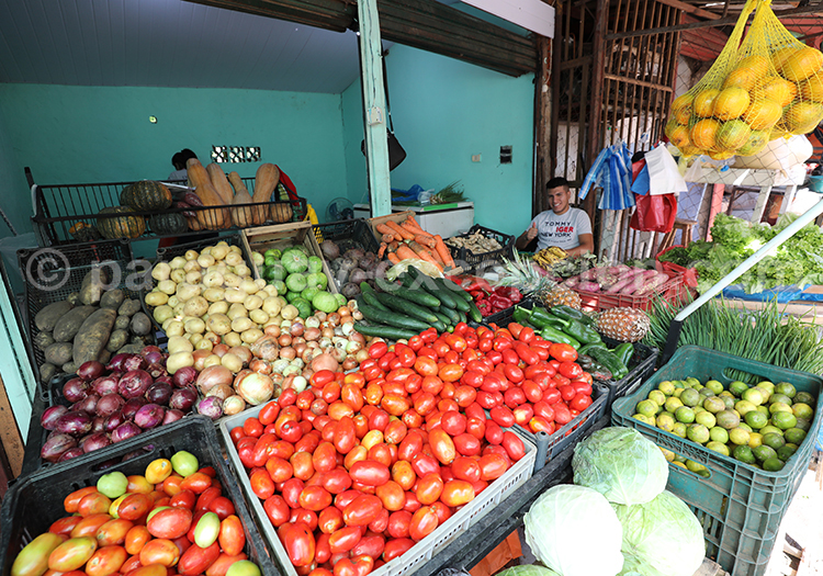 Les légumes du Paraguay, marché Abasto, Ciudad del Este