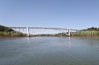 Le pont de l'Amitié Brésil Paraguay