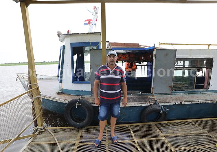Traversée piétonne entre Pilar au Paraguay et Colonia Cano en Argentine