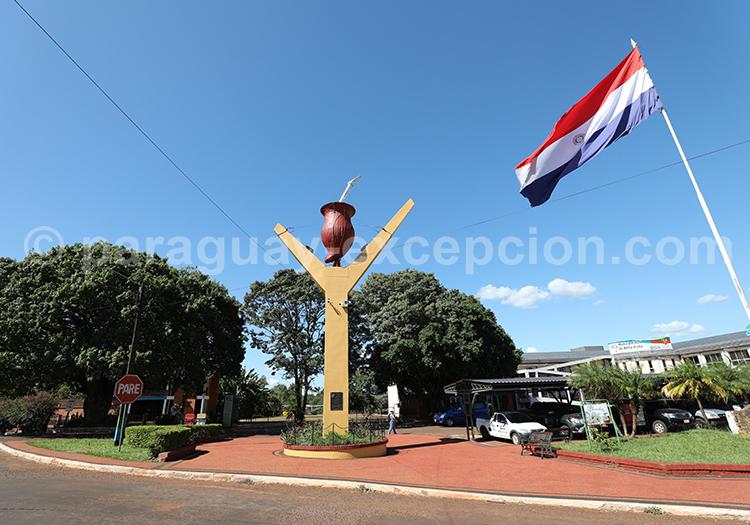 Centre de la ville Bella Vista, Paraguay