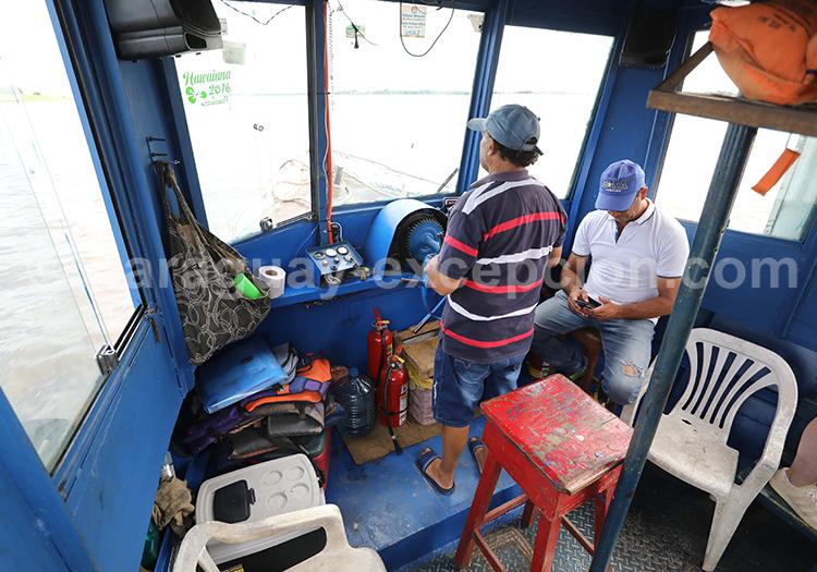 Découvrir le bateau qui relie le Paraguay à l'Argentine, Pilar, région Yvy au Paraguay