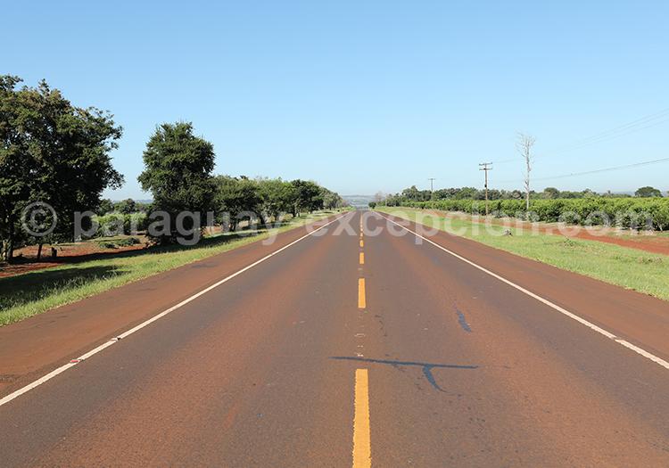 Route du Paraná, comment se rendre dans cette région du Paraguay
