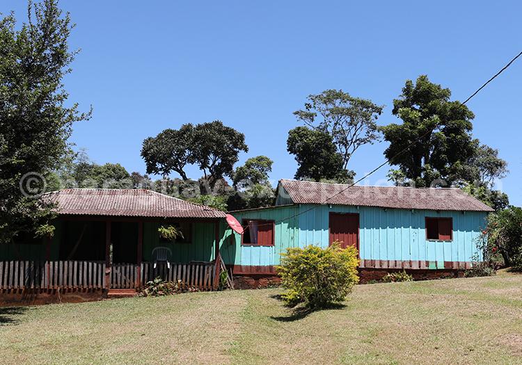 Maison de campagne de la région Paraná au Paraguay
