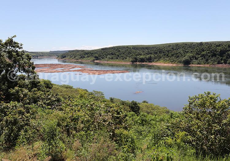 Paysages qui bordent le Río Paraná
