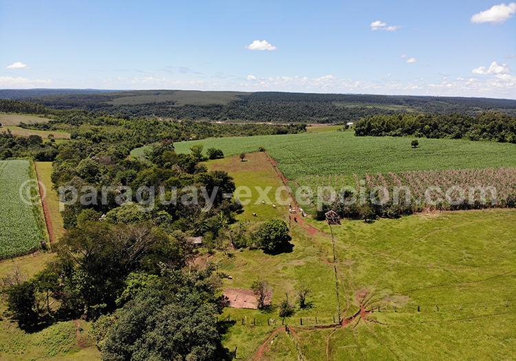 Voir le Paraguay du ciel, Paraná