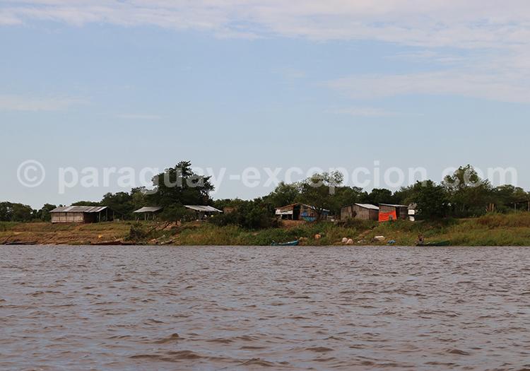 Frontière entre le Paraguay et l'Argentine, Pilar - Colonia Cano