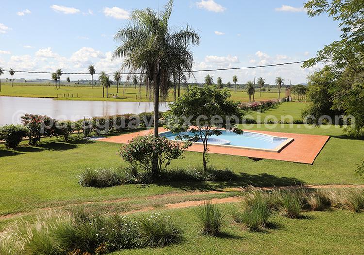 Piscine de l'Estancia Tacuaty, Yvy, Paraguay