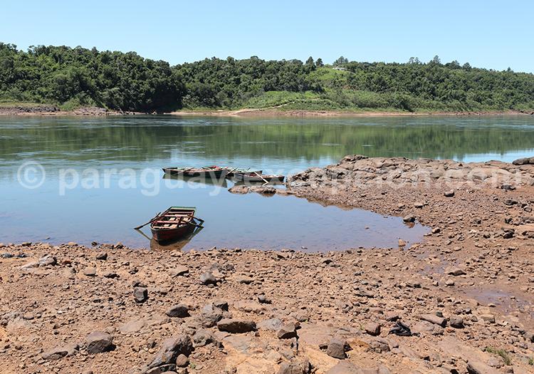 Voir le fleuve Rio Paraná, Paraguay