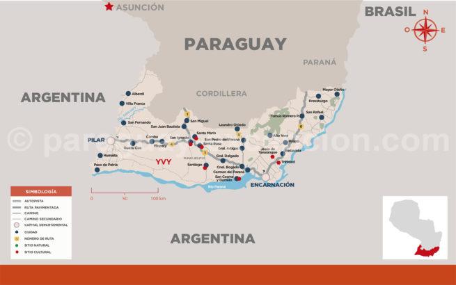 Région d'Yvy, Paraguay