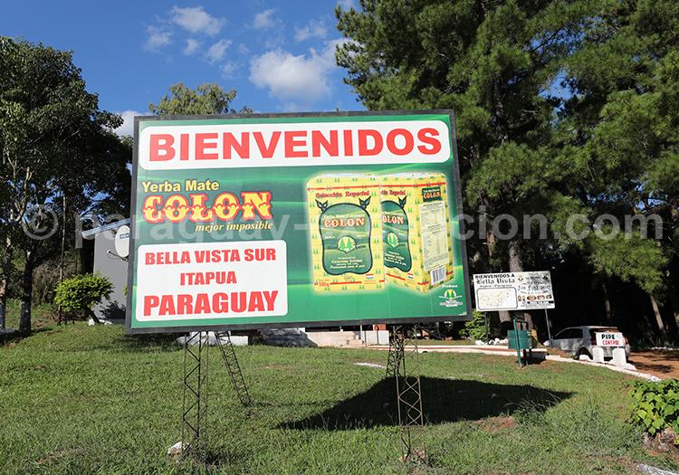 Depuis Corpus en Argentine comment aller au Paraguay (Bella Vista)
