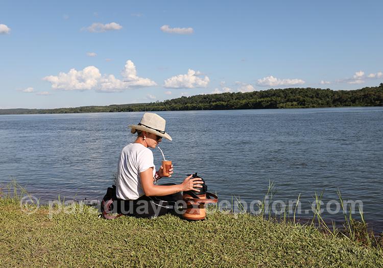Où se trouve le fleuve Parana, Paraguay