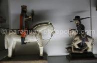 Microsculptures en bois et polychromie, Tobati, Paraguay 1970, Musée del Barro Asuncion